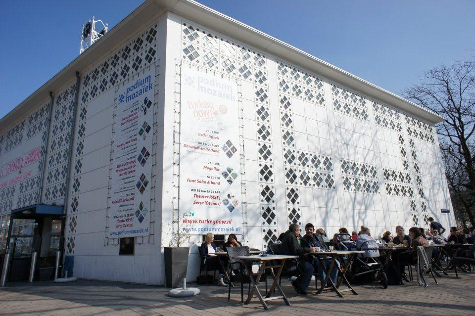 Podium mozaiek cafe restaurant for Turks restaurant amsterdam